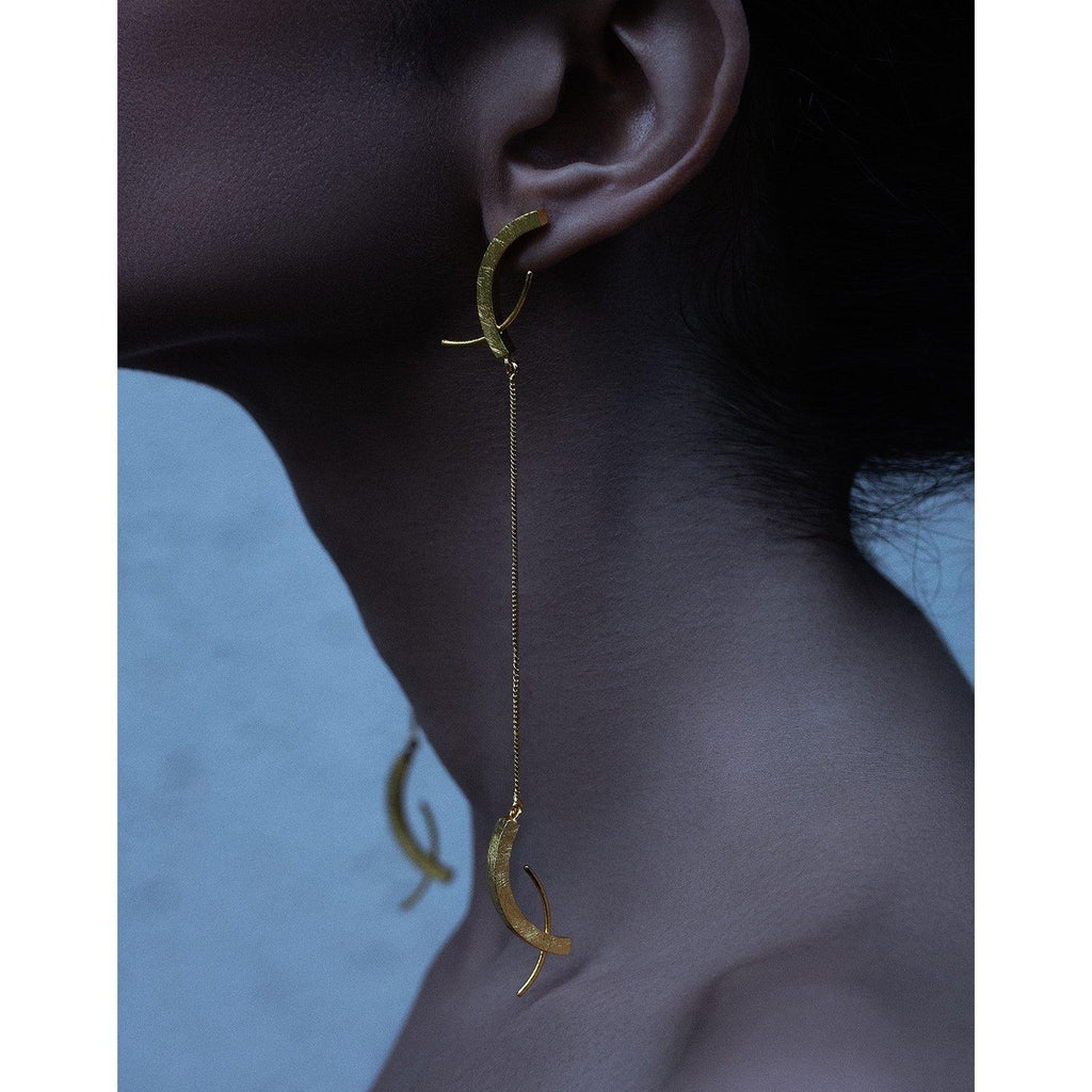 Roho Earrings | Handcrafted Jewellery | DE'ANMA | Dori