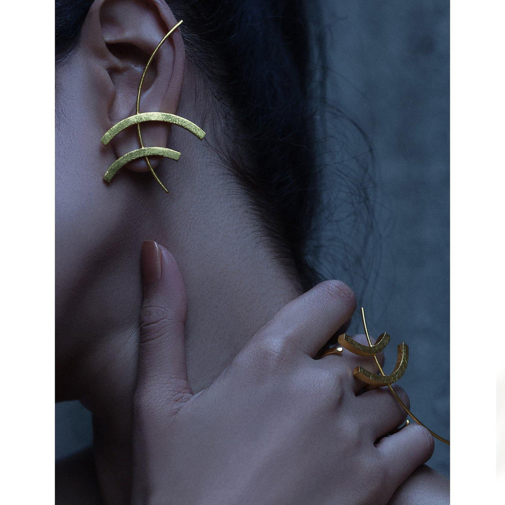 Tohu Earrings | Handcrafted Jewellery | DE'ANMA | Dori