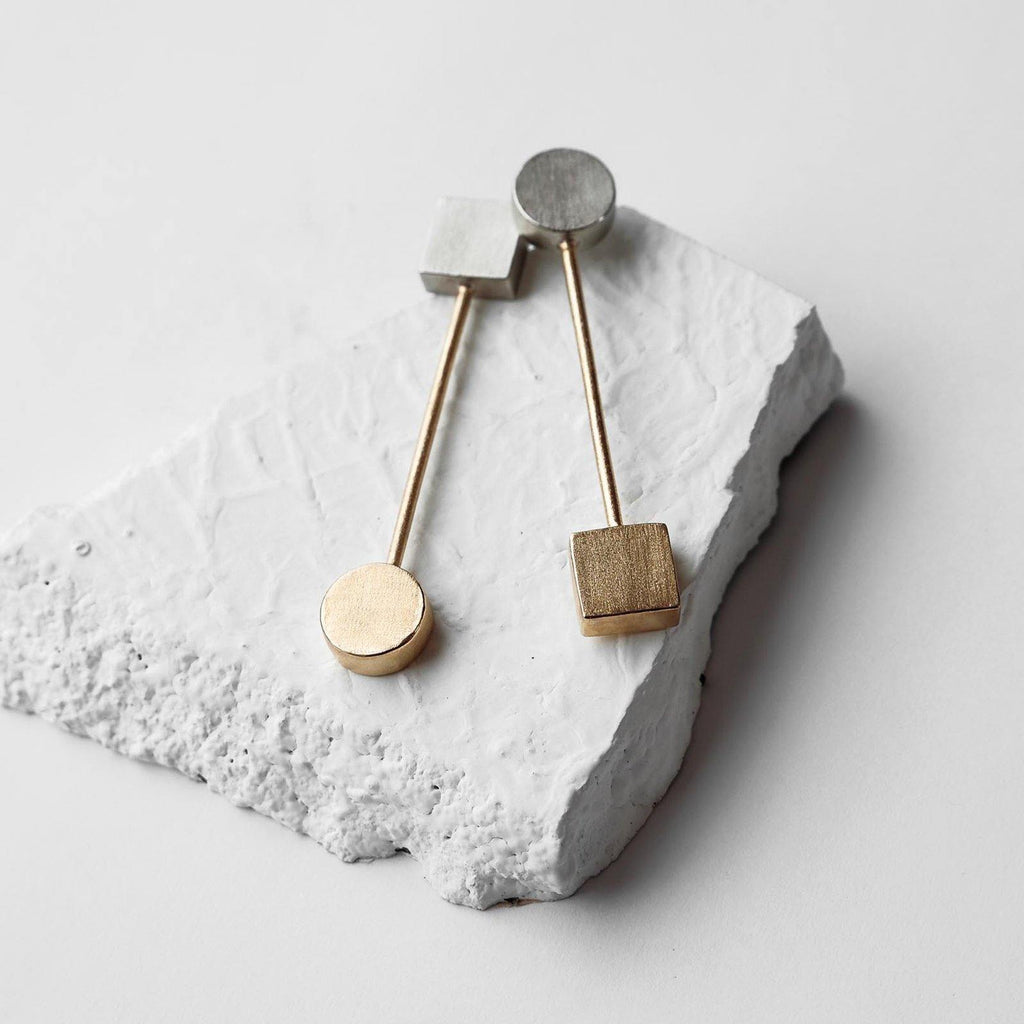 Vice Versa Earrings | Handcrafted Jewellery | DE'ANMA | Dori