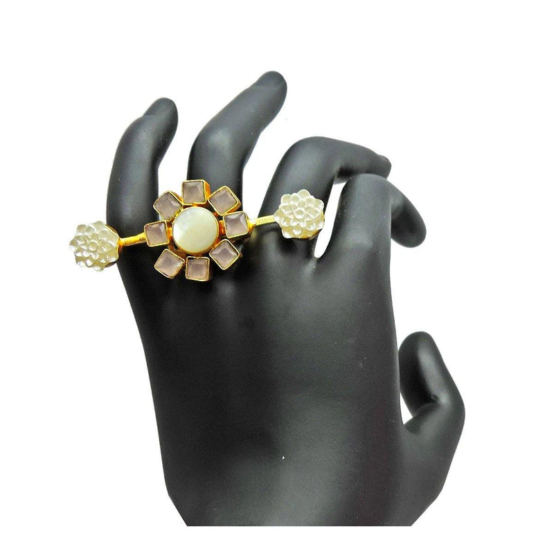 Flora Shine Ring | Handcrafted Jewellery | Dori