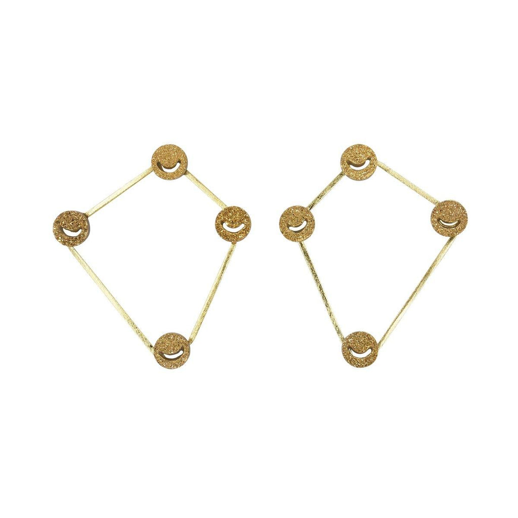 Quadrilateral Earrings | Handcrafted Jewellery | Eurumme | Dori