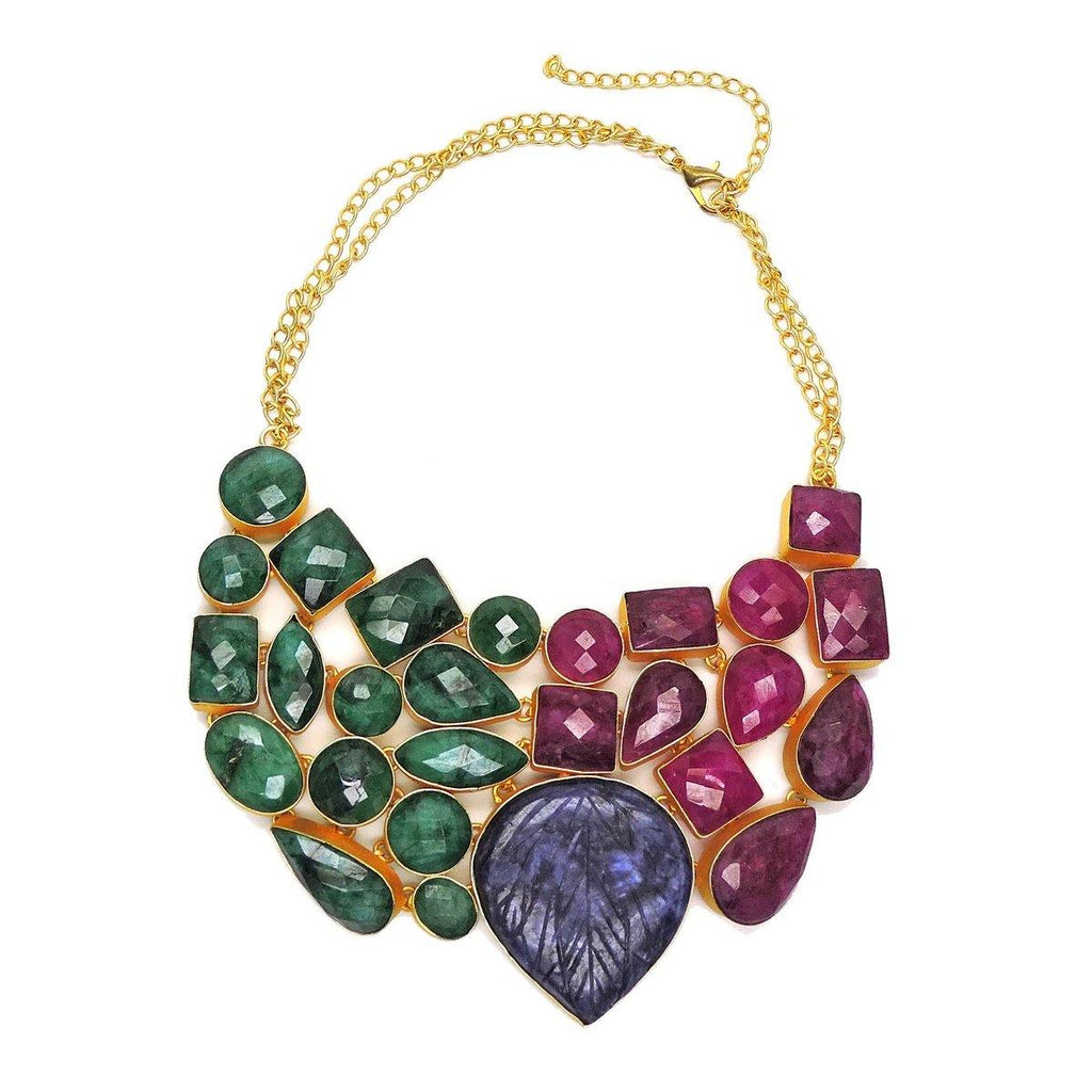 Rainbow Necklace | Handcrafted Jewellery | Dori