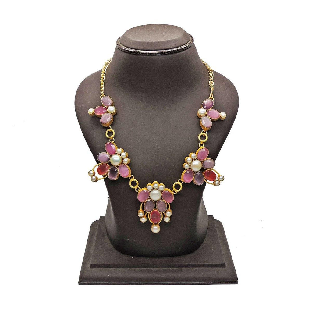 Rose Blossom Necklace | Handcrafted Jewellery | Dori