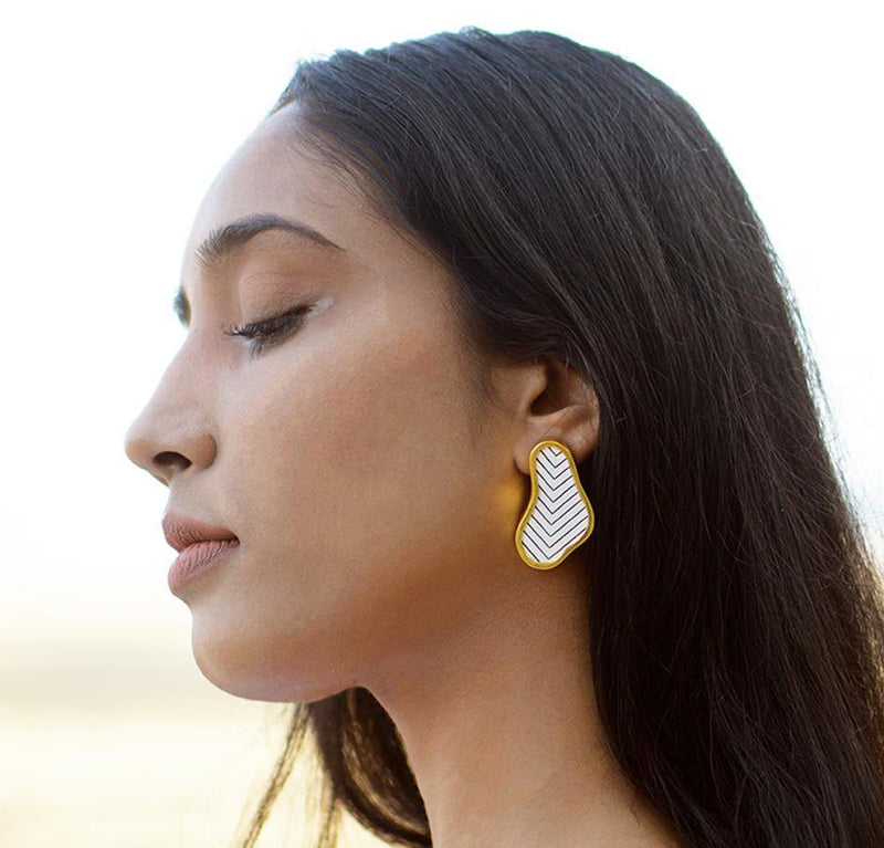 Island Earrings | Handcrafted Jewellery | SATAT | Dori
