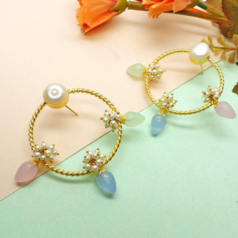 Tiara Hoop Earrings | Handcrafted Jewellery | Dori