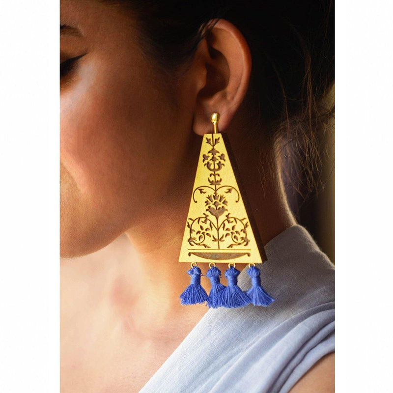 Vinayaki Earrings | Handcrafted Jewellery | SATAT | Dori