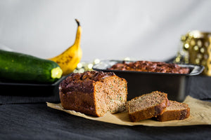 Gollyzook <br> The delicious zucchini-banana bread