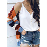 Knit Sweater Cardigans Coat Top