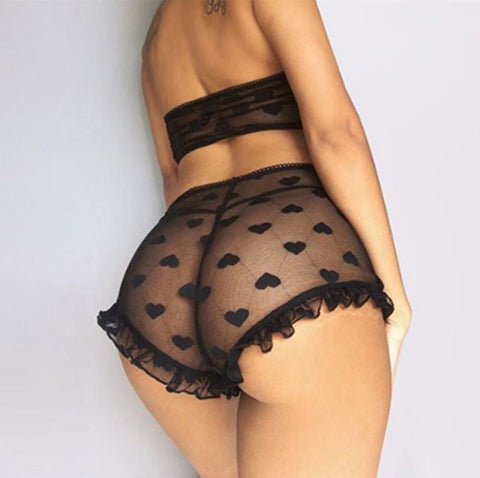 Sexy Lace Two Piece Lingerie Underwear