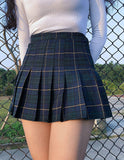 Sexy Plaid High Waist Mini Skirt