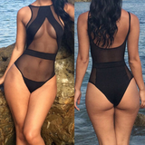 TIGHT-FITTING LEOTARD SWIMSUIT