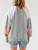 Streetwear Long Sleeve Tether Sweatshirt