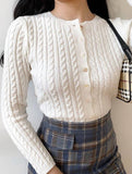 Cardigan Knitting Sweater Top