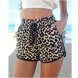 FASHION WOMEN LEOPARD SHORTS