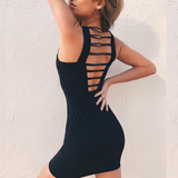 Backless Sexy Sleeveless Dress