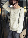 RETRO LOOSE LONG-SLEEVED SWEATERS