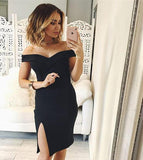 Sexy Women Solid Color Dress