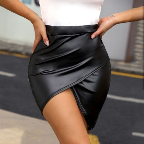 Women'S Solid Color Skirt