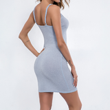 Sexy Sling Bag Hip Dress