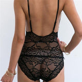 Fashion Sexy V-Neck Lace Lingerie