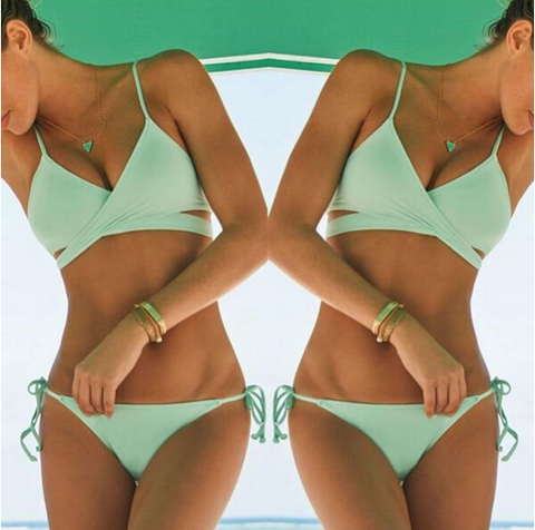 Fashion Sexy Split Two-Piece Bikini