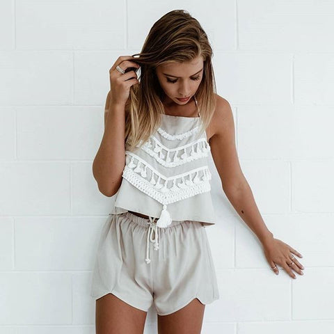 Fashion two-piece shorts