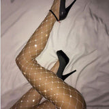 New sexy fishnet stockings hollow out fishnet stockings white