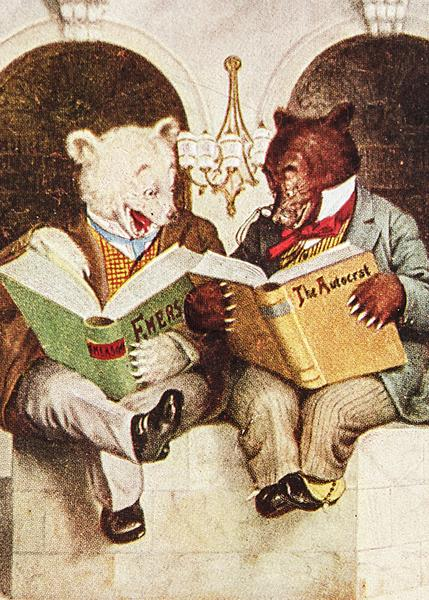 Section E 3. Best Artist Bear and Antique Bear together. Artist impression of a favourite old bear.