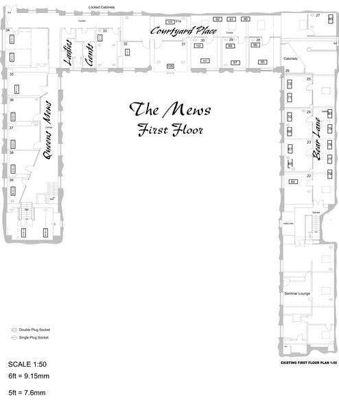 1A. The Mews. First Floor Plan
