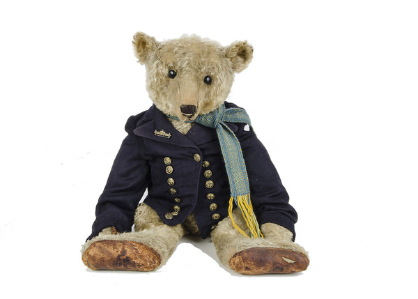 Section Antique C 4. A Dressed Steiff Bear