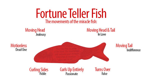 10 fortune teller miracle fish fortune teller fish by for Fortune teller fish