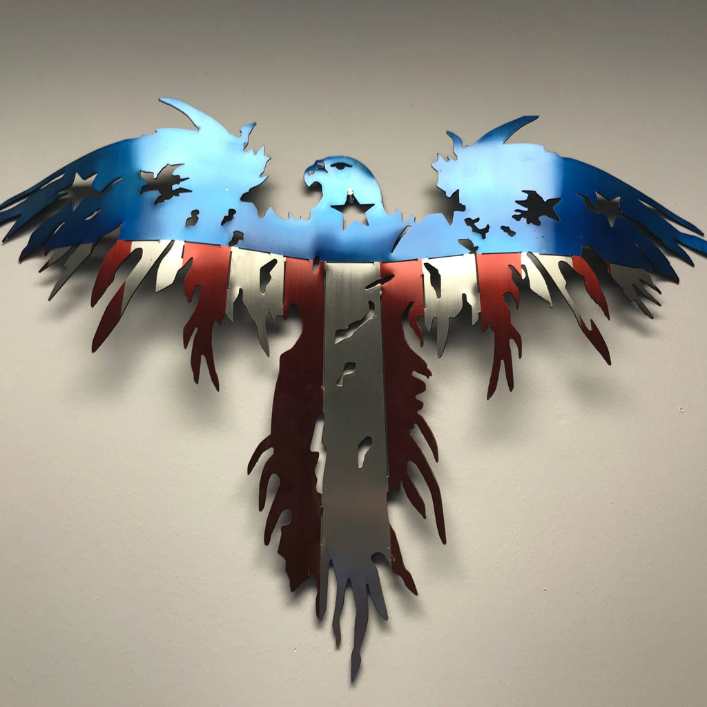 3 Dimensional Flying Freedom Eagle