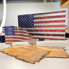 Buck Skull Hunting Bow Rack with Optional Customization