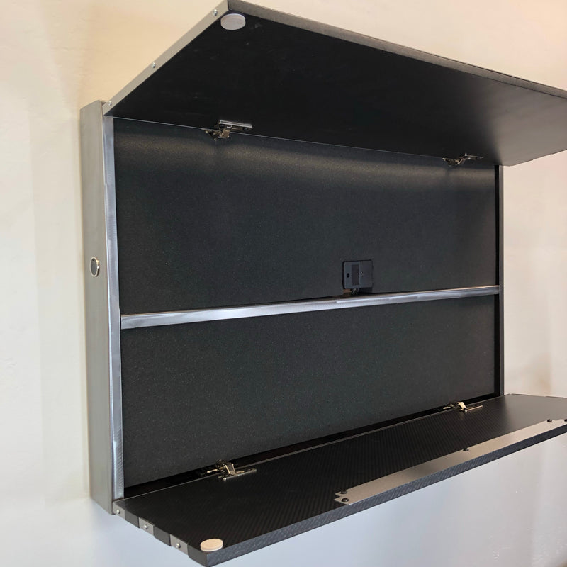 Carbon Fiber Speakeasy Vault / Freedom Cabinet Bar