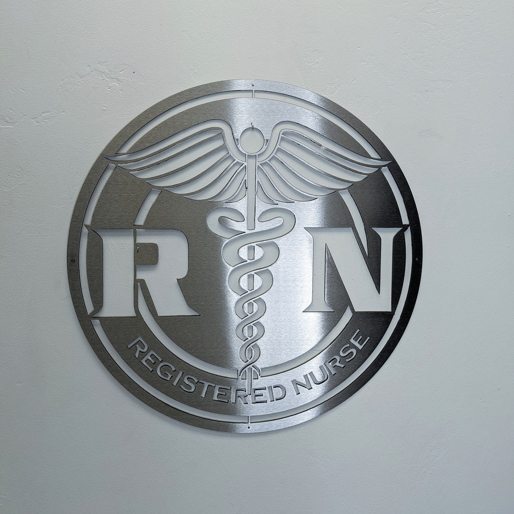 Registered Nurse Logo RN