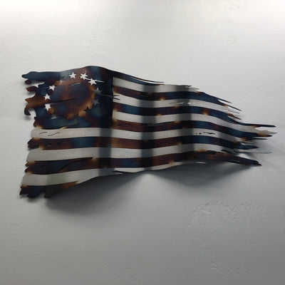 Wavy Heat Treated Betsy Ross Old Glory