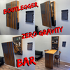 "Zero Gravity ""BOOTLEGGER"" Speakeasy HIDE-A-BAR"