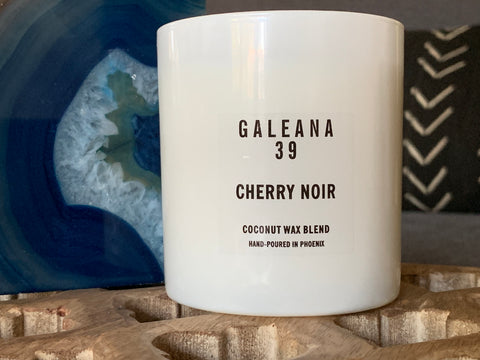 8 oz Black Cherry Noir Soy Candle