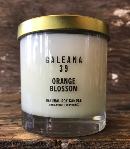 Orange Blossom Soy Candle