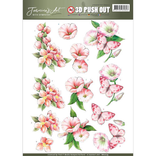 Decoupage Push Out Sheets