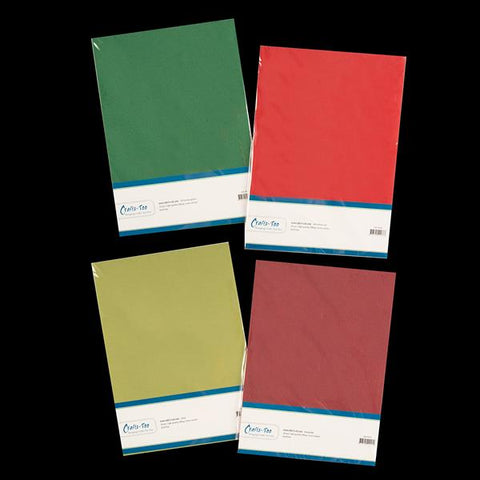 Crafts Too A4 Linen Card Pack - 40 Sheets CRGBO