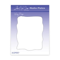 JND Media Plate Wavy Plaque