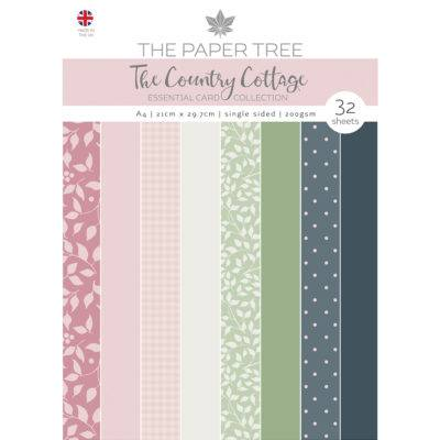 The Paper Tree The Country Cottage A4 Essential Colour Card