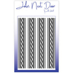 JND Mask Stencil - Ticking Stripe
