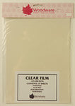Woodware Clear Acetate Sheets