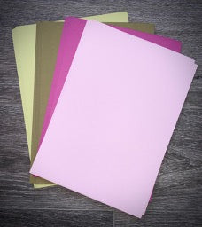 Crafts Too A4 Linen card pack - New colours