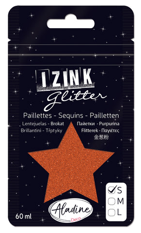 Izink Superfine Glitter - Cuivre (Copper)