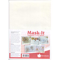 Woodware A4 Mask-It Sheets x 2