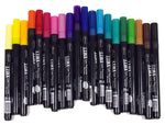 Aladine Dye Brush Marker Complete set of 20 with FREE case