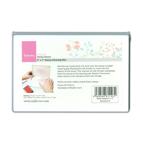 Stamp Cleaning Mat 5 x 7""